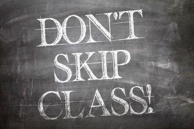 nClass College Attendance skip class